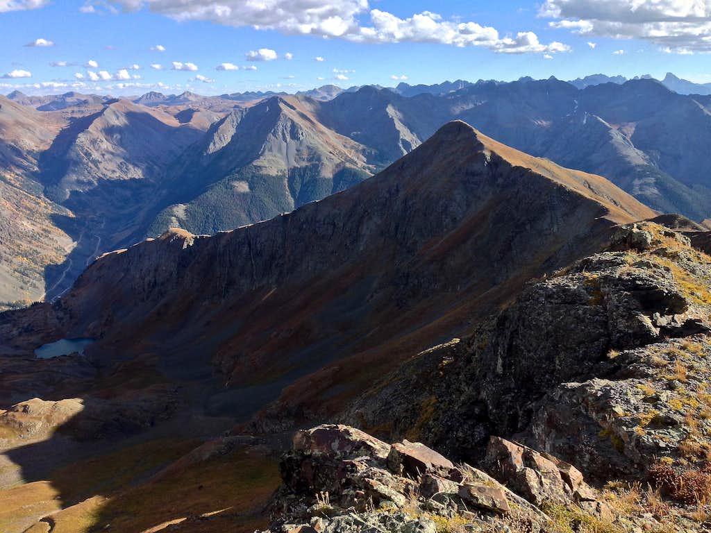 Macomber Peak 13,222 feet