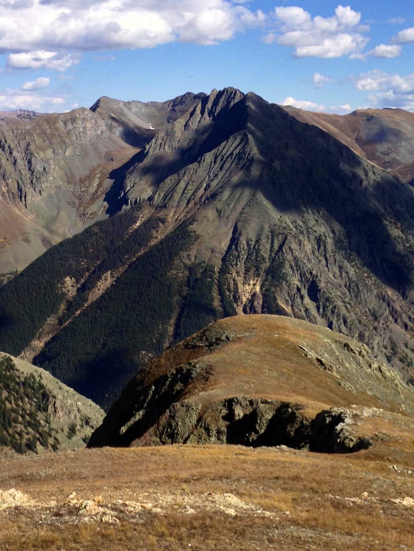 Galena Mountain 13,300 feet