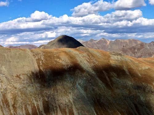 Horseshoe Ridge and Dome Mountain
