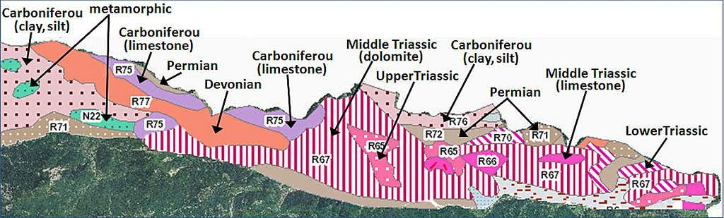 Carnic Alps geology