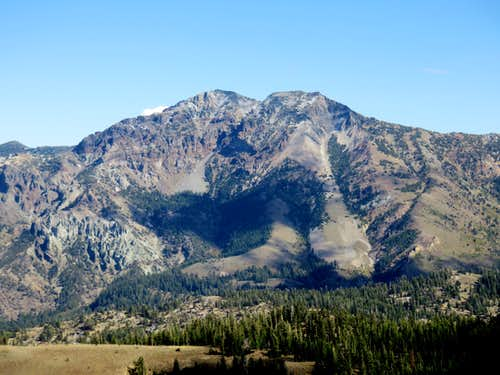 Silver Peak twin summits from the PCT