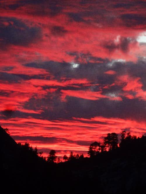 Little Yosemite Valley Sunset
