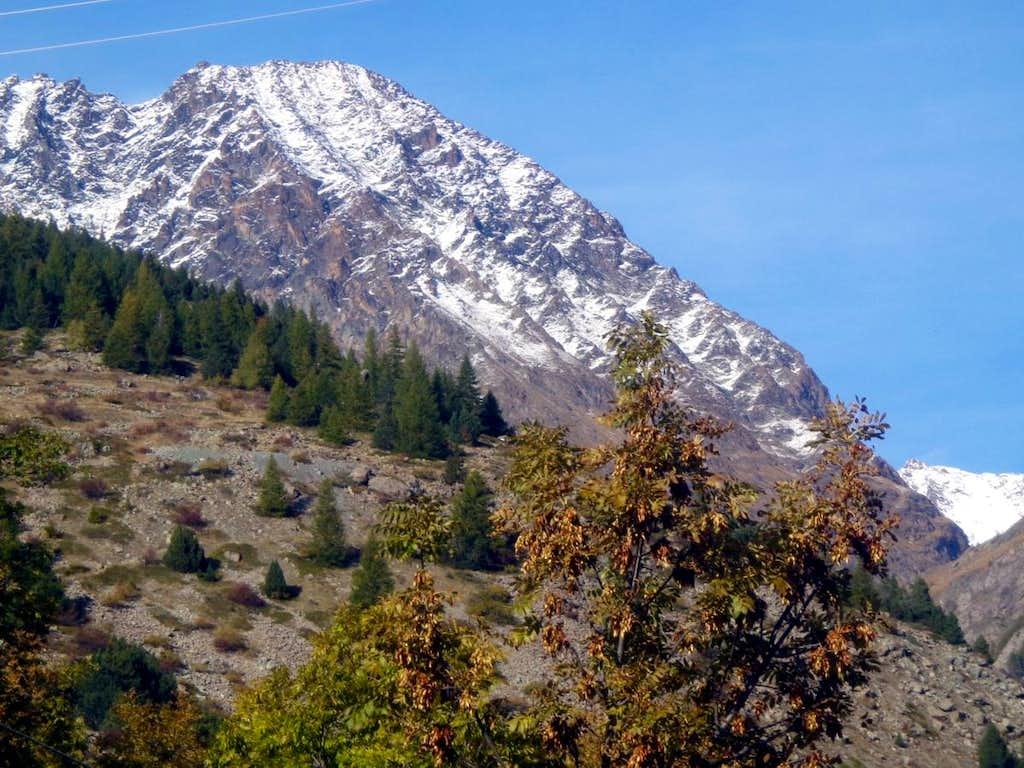 Tour Grauson or Mont Groson in the mid Grauson Vallon 2015