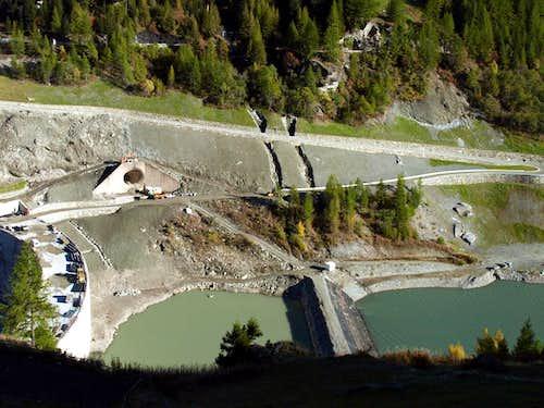 Beauregard Dam advanced stage decommissioning 2015