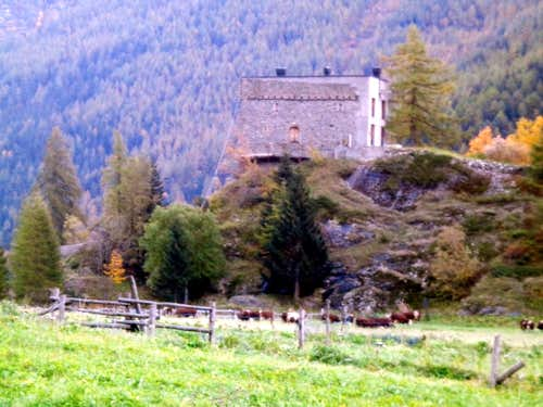 (Valgrisenche) Planaval XIII° Century Fortress 2015