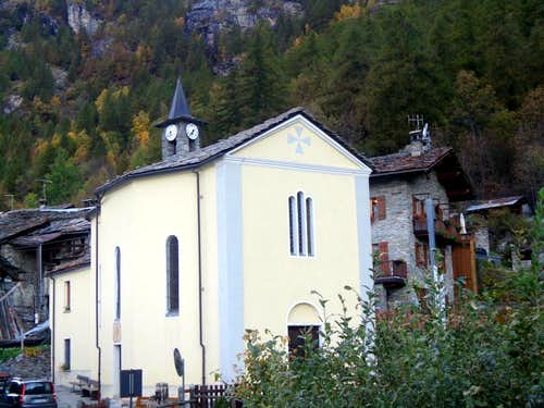 (Valgrisenche) Planaval Fraction (Arvier) Church 2015