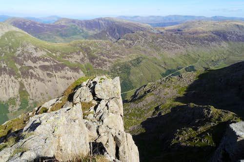 Pillar Rock summit view