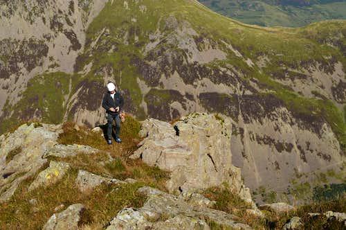 Summit of Pillar Rock
