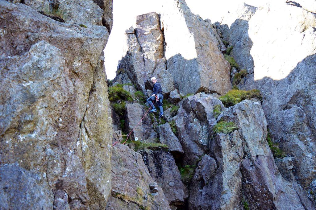Top pitch Slab & Notch Pillar Rock