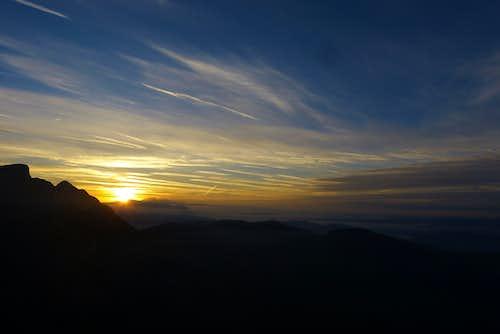 Sunrise from Werfener Hut