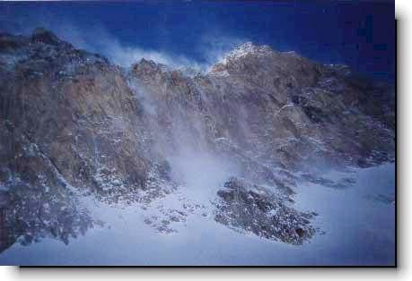 Alam kouh North face(in winter)