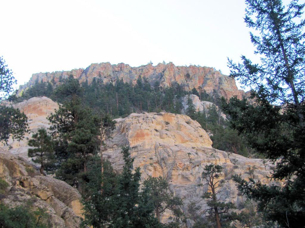 Upper canyon