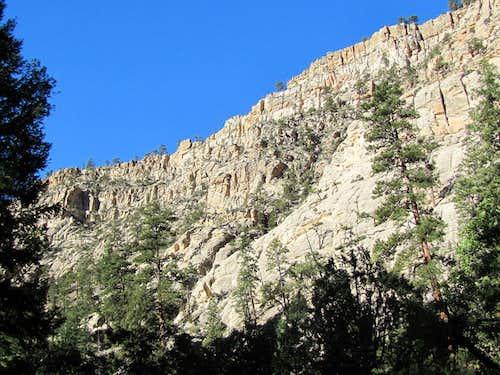 Mid canyon