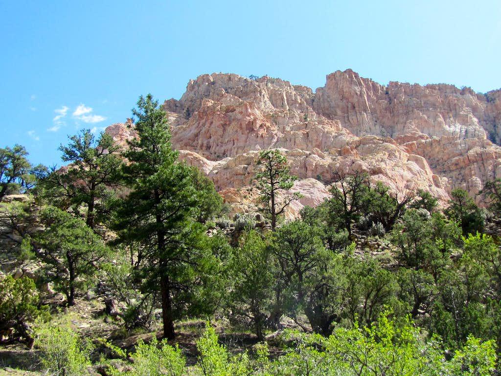Lower canyon