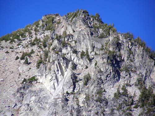 South side cliffs