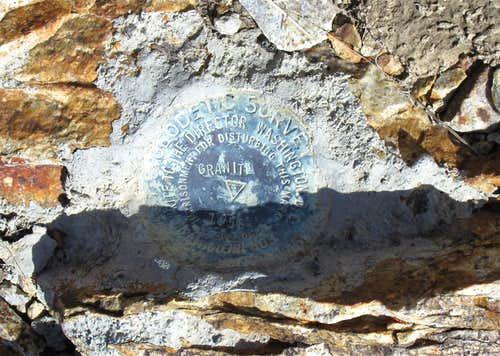 Granite Peak benchmark