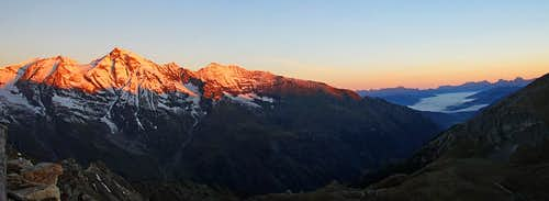From Grosses Wiesbachhorn to Zell am See