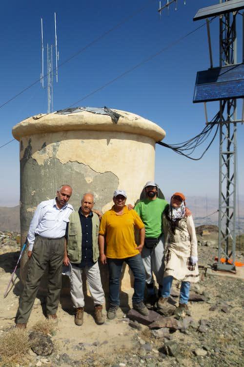 صعود به قله باقران27-6-94