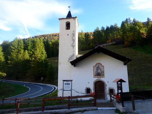 (La Thuile) / D-2 Pont Serrand St. Bernard Chapel 2015