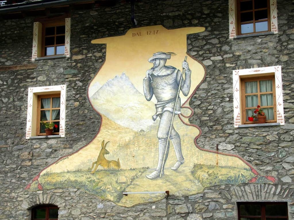 Summary By Gr. St. Bernard passing La Clusaz 2015