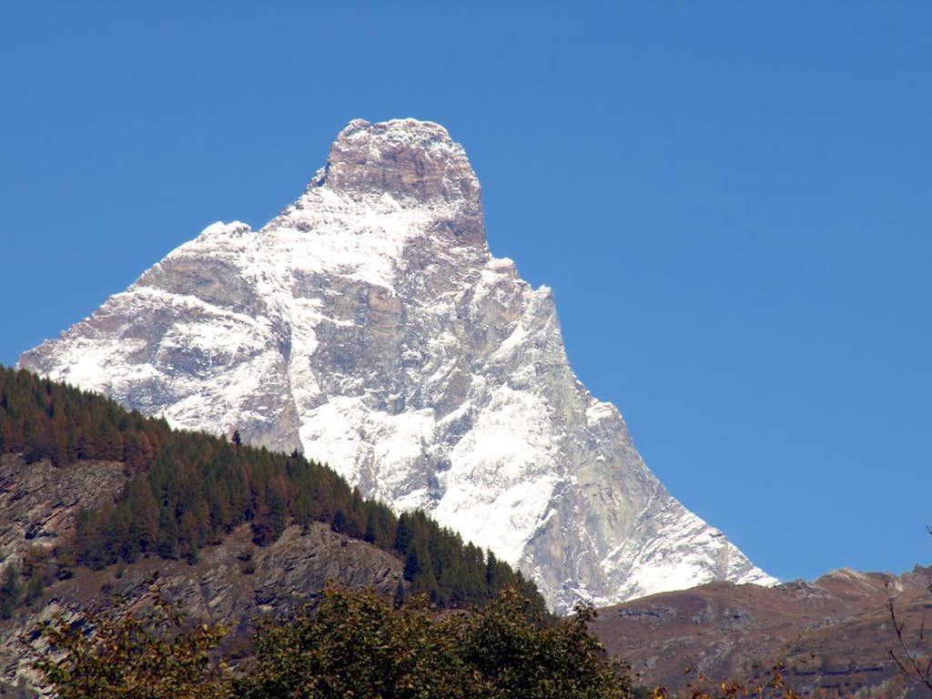 Going Valtournanche Matterhorn Southern Face 2015