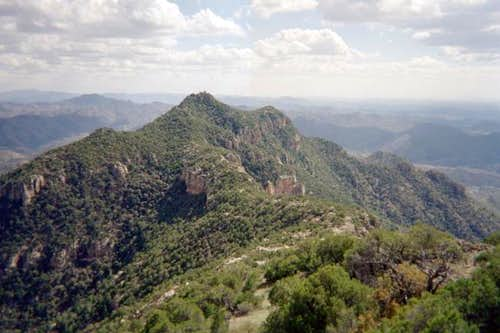 A view of Atascosa Lookout,...