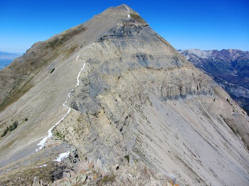 North Timp from Bomber