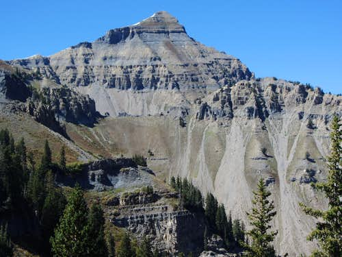 North Timp from Timpooneke Trail