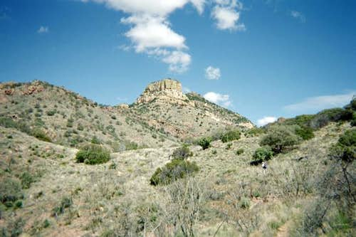 A view of Atascosa Lookout...