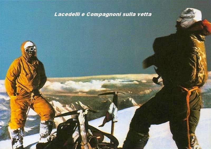 Lacedelli & Compagnoni K2 Summit