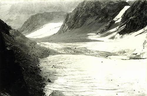 View from the Muskovite Pass...