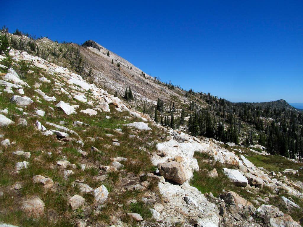 Buffalo Hump from the ridge