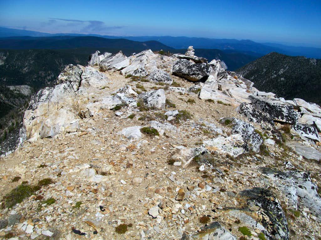 Buffalo Hump summit