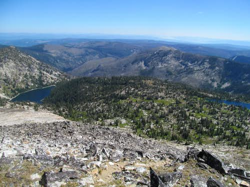 Crystal Lake & Hump Lake