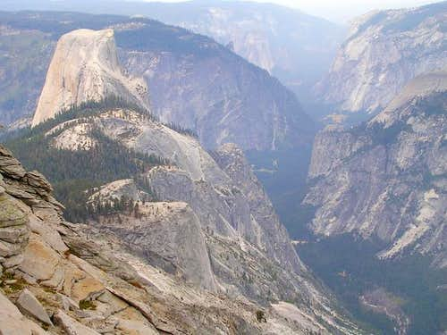 Half Dome from Cloud\'s Rest