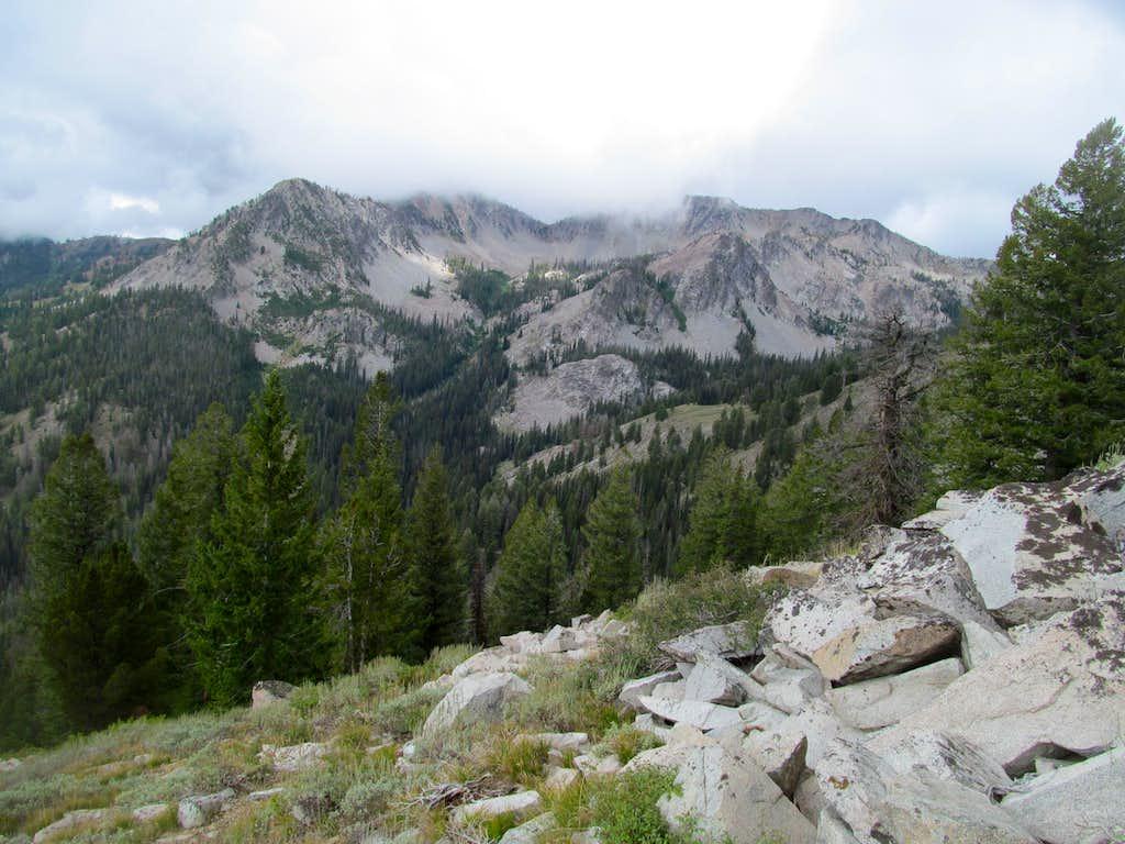 Ross Peak while ascending 2Point