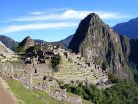 Just after dawn at Machu Picchu
