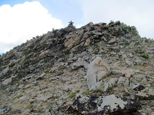 2Point summit cairn