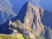 Huayna Picchu from the hike...