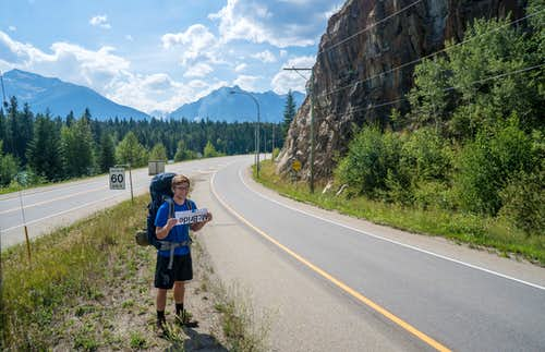 Hitchhiking to McBride