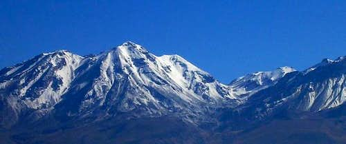 Nevado Chachani - Winter 2004...