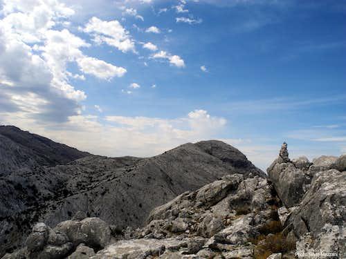 Top of Punta Cusidore