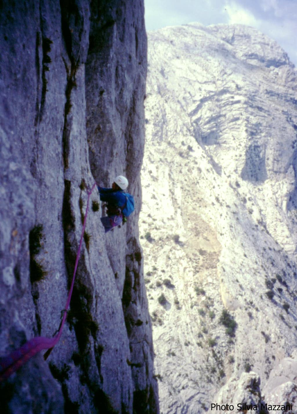 Exposed traverse on Legione Reale Truppe Leggere