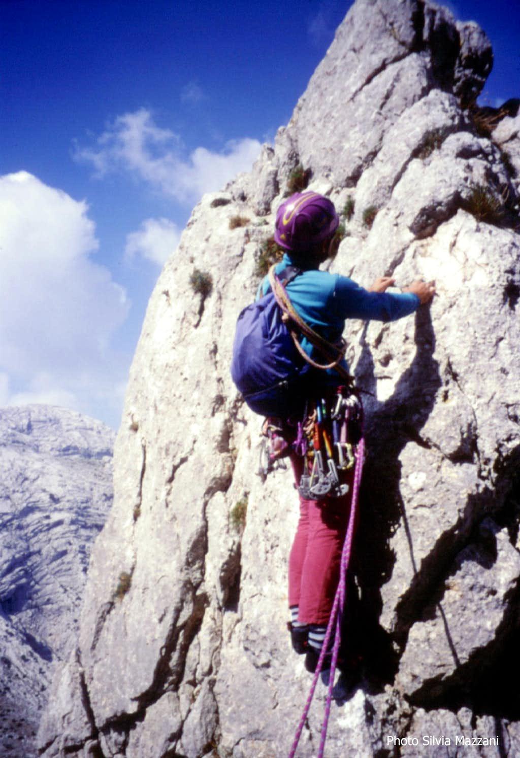 Cusidore, along the classic NW ridge