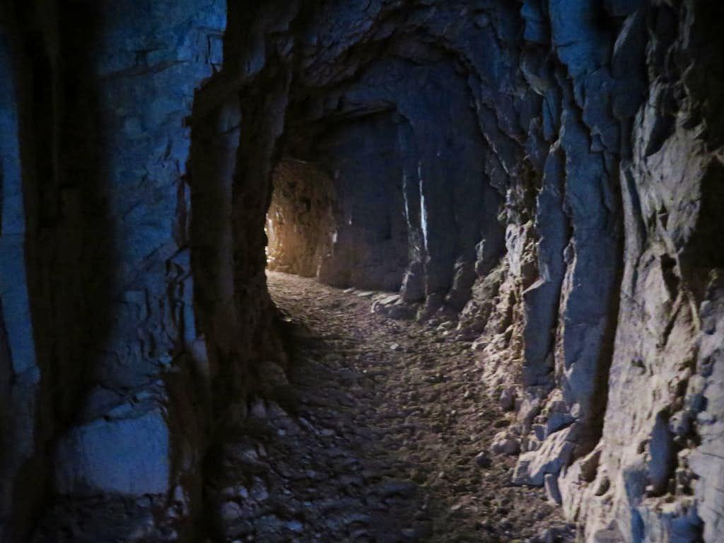 Tunnel before Black Bridge