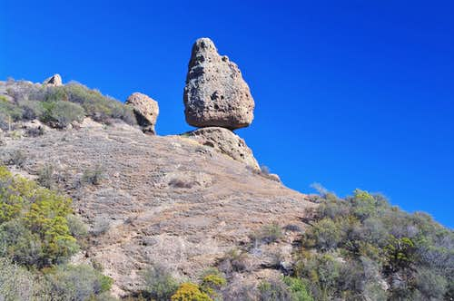 Balanced Rock in the Santa Monica Mountains