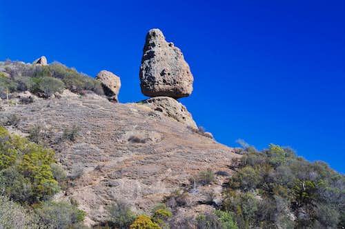 Balanced Rock in the Santa Monica Mountains