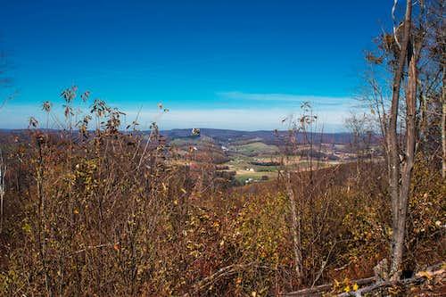 View towards West Virginia