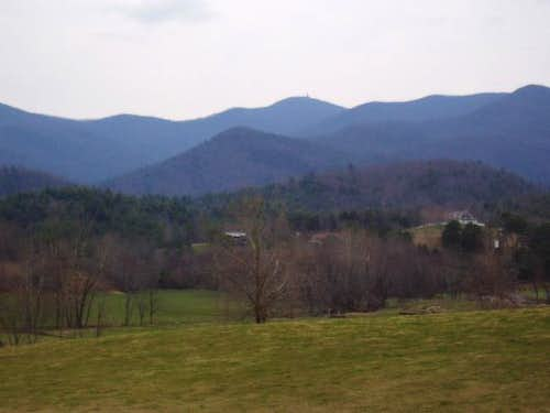Brasstown Bald as seen from...