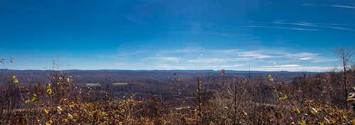 Backbone Mtn, Maryland -  HP Panorama